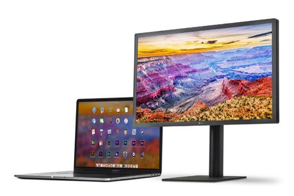 LG nâng cấp màn hình UltraFine 5K hỗ trợ iPad Pro