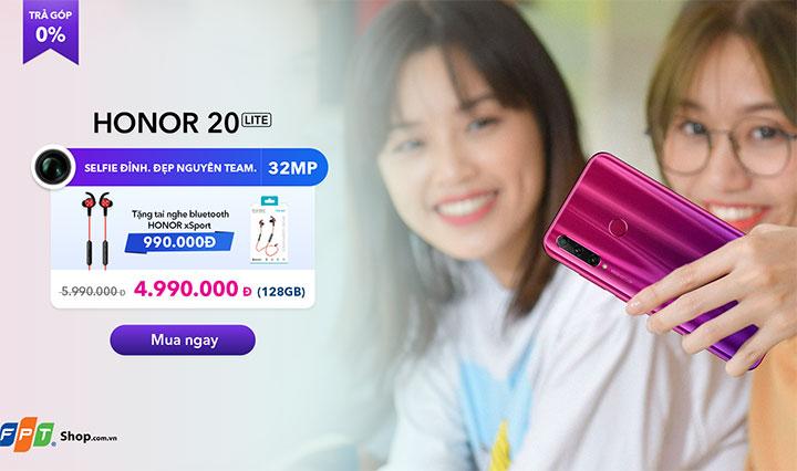 Honor bất ngờ giảm giá sâu 4 smartphone ở Việt Nam đón mùa tựu trường