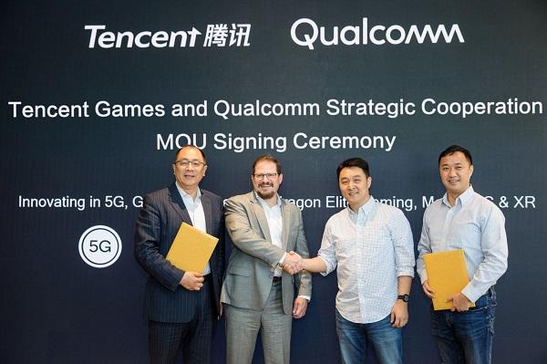 Qualcomm và Tencent sẽ cùng nhau phát triển một chiếc điện thoại chơi game 5G