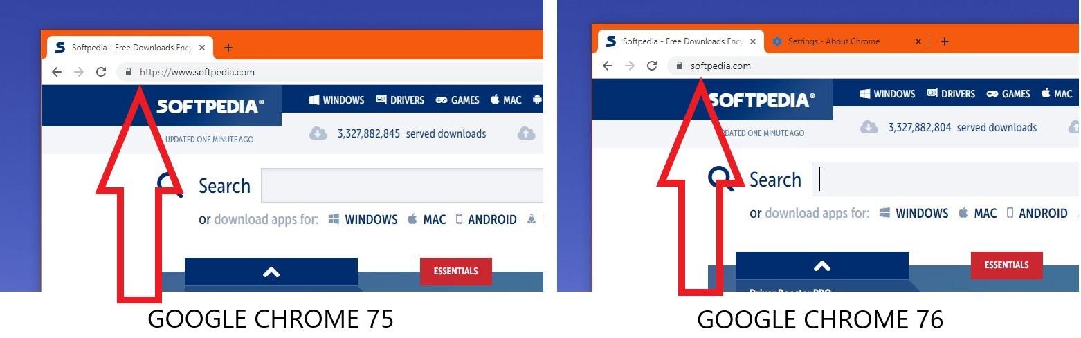 Làm thế nào để HTTPS và WWW xuất hiện lại trên thanh địa chỉ của Google Chrome?