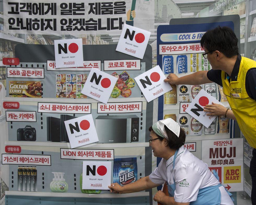 Bên trong cuộc chiến cả Nhật và Hàn đều sẽ thua, còn Samsung thì đang khốn đốn