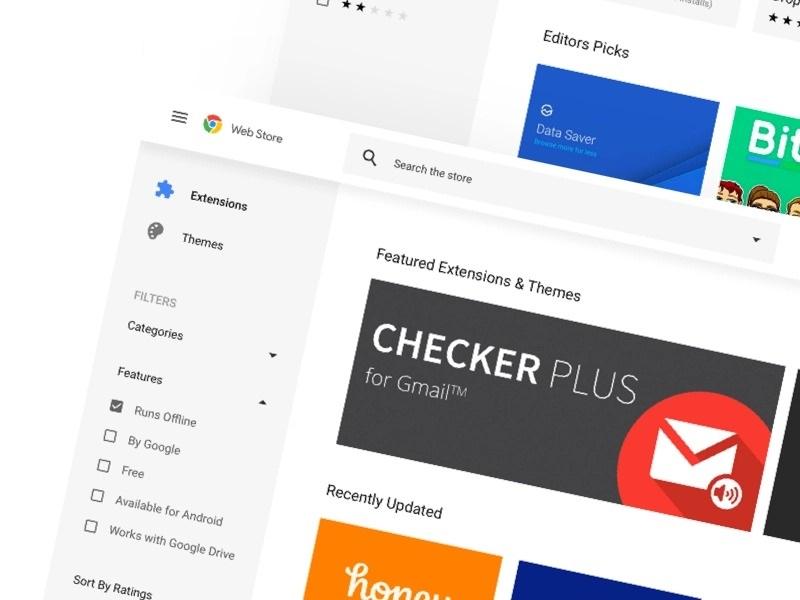 Một nửa số extension dành cho Google Chrome có số lượt cài đặt chưa đến… 16
