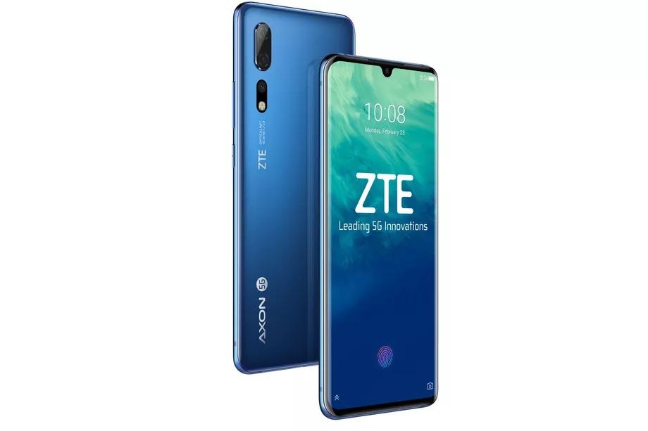 ZTE ra mắt mẫu điện thoại 5G đầu tiên tại Trung Quốc