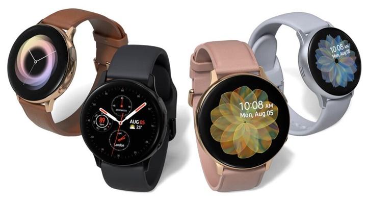 Samsung Galaxy Watch Active2 chính thức ra mắt với viền kỹ thuật số, tính năng ECG