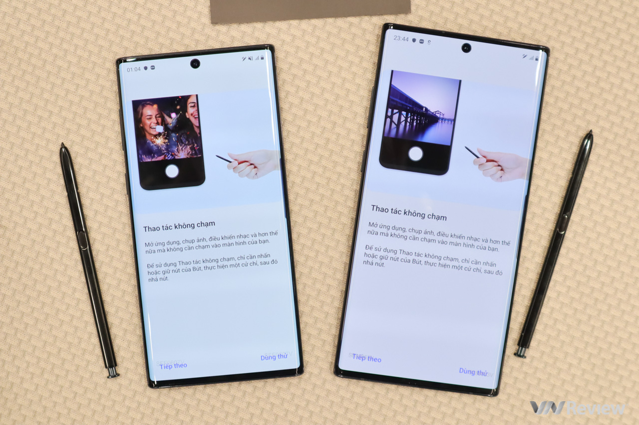 Trên tay Galaxy Note 10 và Note 10+ tại Việt Nam