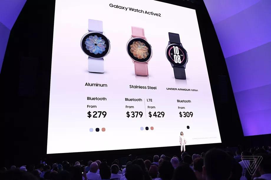 Samsung trình làng Galaxy Watch Active 2