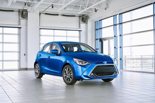 Toyota Yaris Hatchback 2020 có thiết kế mới giá từ 435 triệu đồng