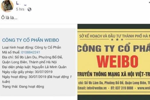 Thực hư việc mạng xã hội Weibo của Trung Quốc sắp 'thâm nhập' Việt Nam