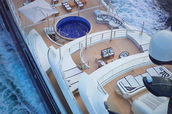 Chiêm ngưỡng 11 du thuyền đắt giá nhất thế giới