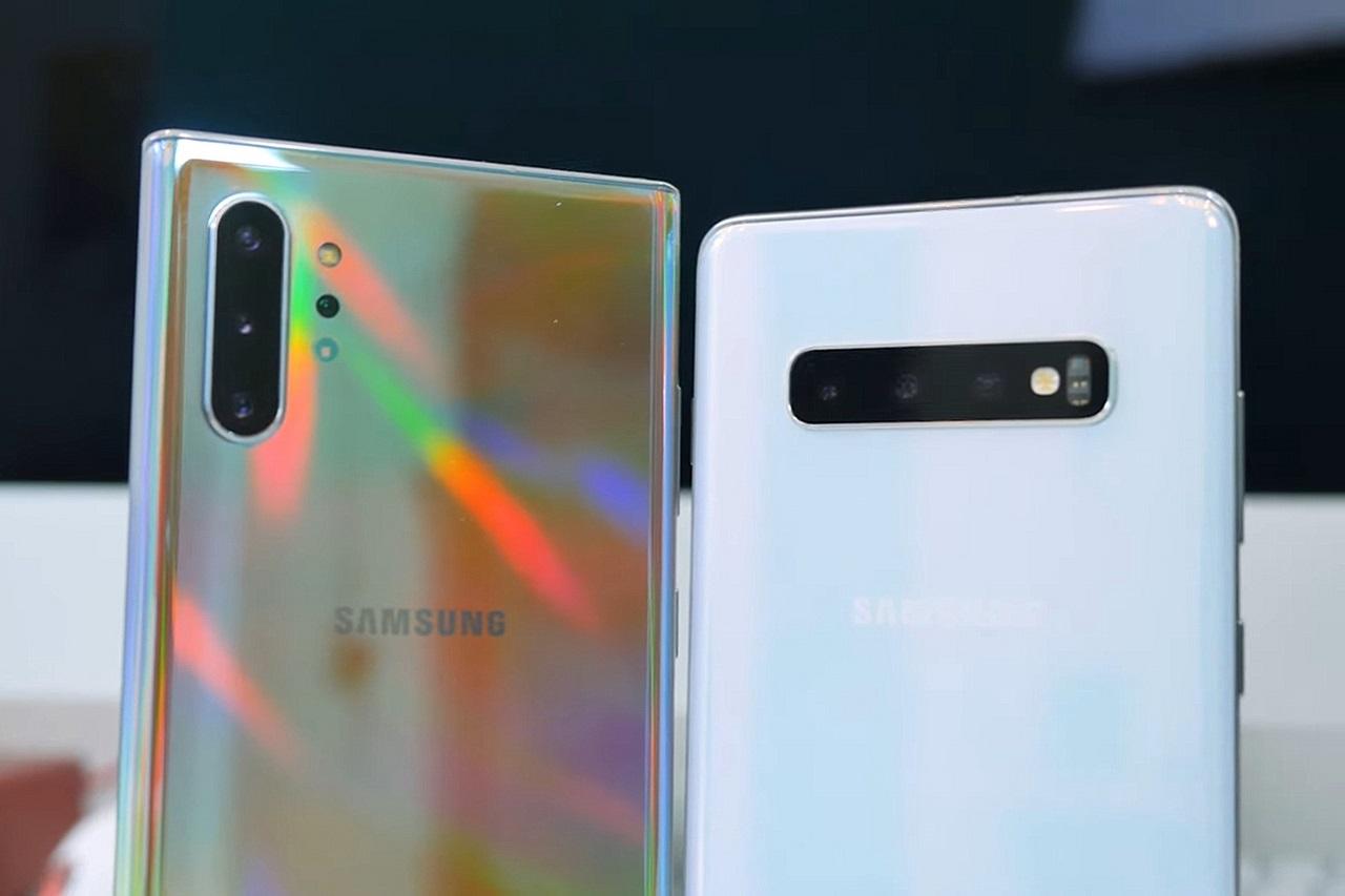 So sánh thiết kế, trải nghiệm của Galaxy Note 10+ và S10+