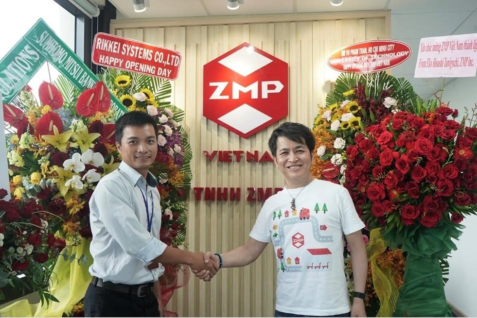 Công ty chuyên về xe tự lái Nhật Bản ZMP chính thức mở chi nhánh tại Việt Nam