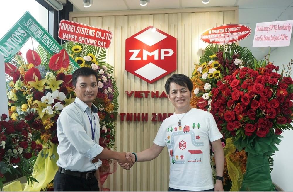 Công ty chuyên về xe tự lái Nhật Bản, ZMP chính thức mở chi nhánh tại Việt Nam
