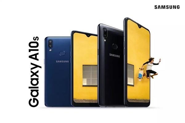 Galaxy A10s ra mắt với pin 4000 mAh, camera kép