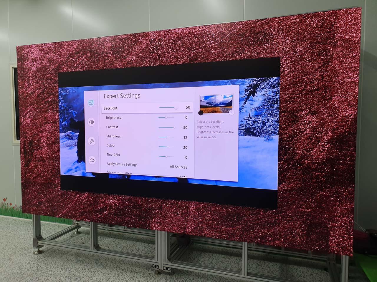 Trải nghiệm TV Samsung MicroLED The Wall 146 inch giá gần 8 tỷ đồng tại Việt Nam