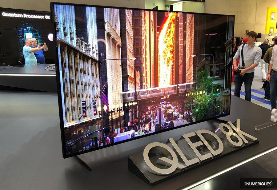 TV Samsung bán chạy gấp 3,5 lần Sony tại phân khúc 70 inch trở lên