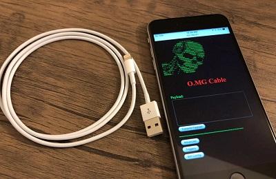 Cáp sạc iPhone này có thể chiếm quyền điều khiển máy tính