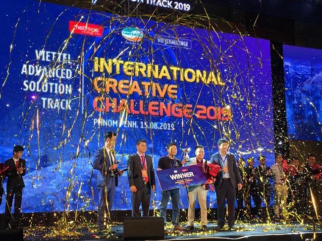 Chung kết Viettel Advanced Solution Track 2019: Việt Nam giành 2/3 giải cao nhất