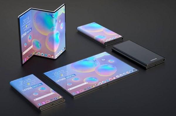 Thiết kế Smartphone màn hình gập tiếp theo của Samsung sẽ theo kiểu chữ Z