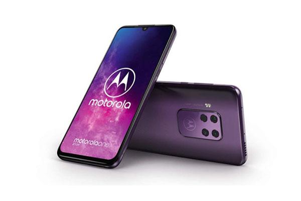 Motorola One Zoom lộ cấu hình, thiết kế với cụm 4 camera vuông