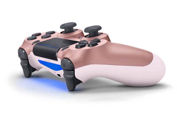 Sony bổ sung màu vàng hồng và 3 màu cực đẹp cho tay cầm DualShock 4