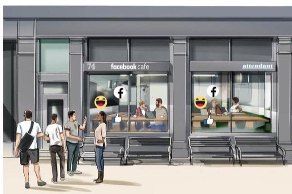 """Facebook sắp mở quán cafe, bán nước miễn phí nếu cho """"kiểm tra quyền riêng tư"""""""