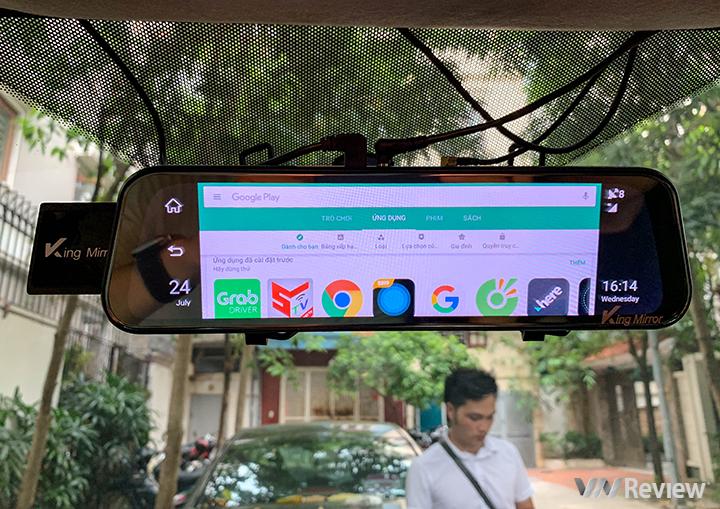 """Trên tay King Mirror 360: """"gương"""" hành trình đa năng chạy Android, giá 4.9 triệu đồng - ảnh 16"""