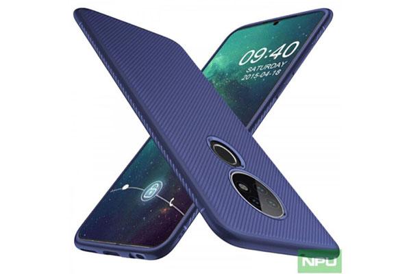 Ảnh ốp lưng tiết lộ thiết kế Nokia 7.2 với cụm camera tròn giống Mate 30 Pro
