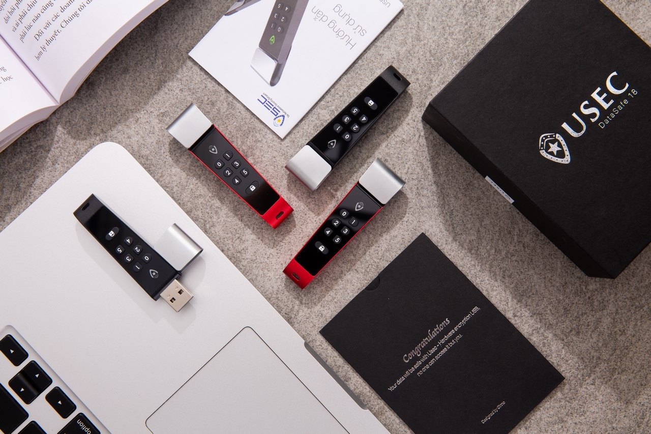 """USB bảo mật USEC DataSafe """"make in Vietnam"""" bắt đầu bán ra với giá từ 1,95 triệu đồng"""