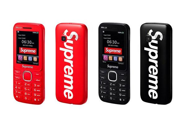 Supreme giờ có cả điện thoại 'cục gạch', đoán xem giá bao nhiêu?