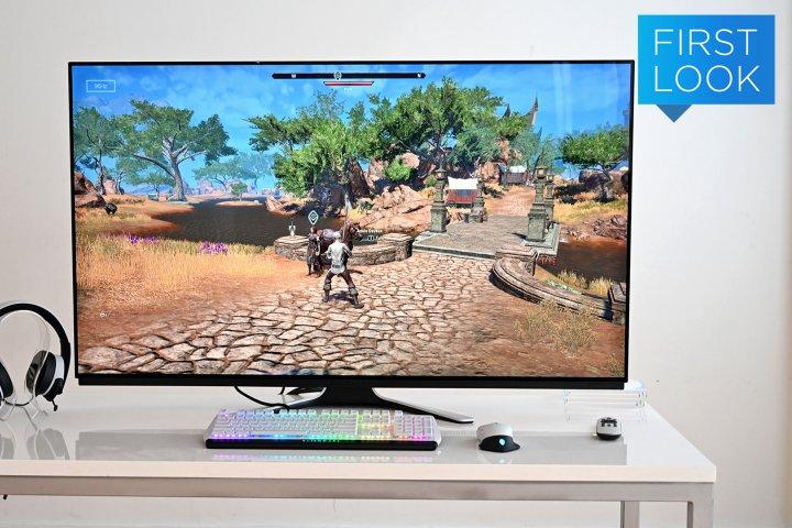 Alienware giới thiệu màn hình chơi game OLED 55-inch đầu tiên trên thế giới