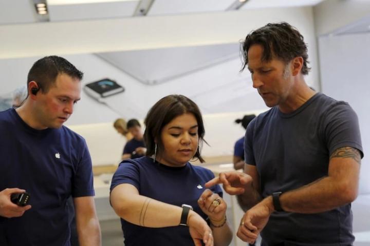 Mảng wearable của Apple phát triển ngang ngửa một công ty trong Fortune 200