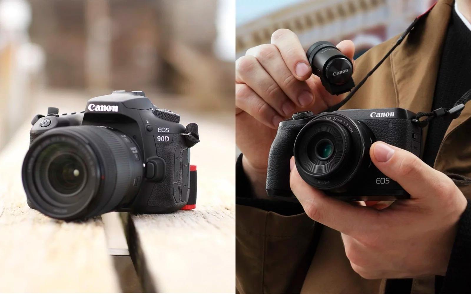 Rò rỉ bộ đôi máy ảnh DSLR EOS 90D và mirrorless EOS M6 sắp ra mắt của Canon