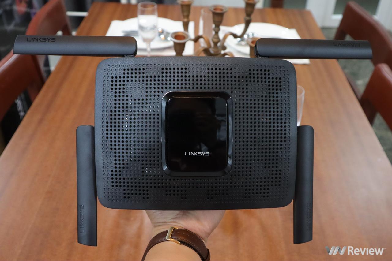Đánh giá router WiFi Linksys MR8300: sóng khỏe, xuyên tường tốt, hỗ trợ cả mạng Mesh