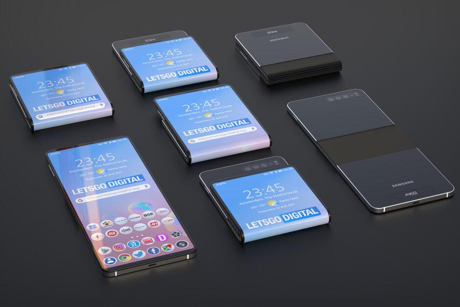 Samsung đáp trả Moto RAZR 2019 bằng những bằng sáng chế điện thoại gập vỏ sò mới