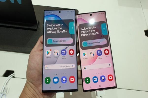Màn tra tấn đầu tiên dành cho Galaxy Note10+ 5G