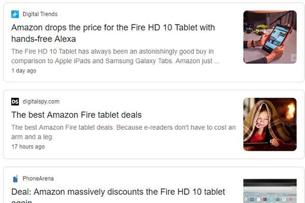 Google nhầm lẫn tai hại: Tìm vụ cháy rừng Amazon, cho ra... tablet Amazon Fire