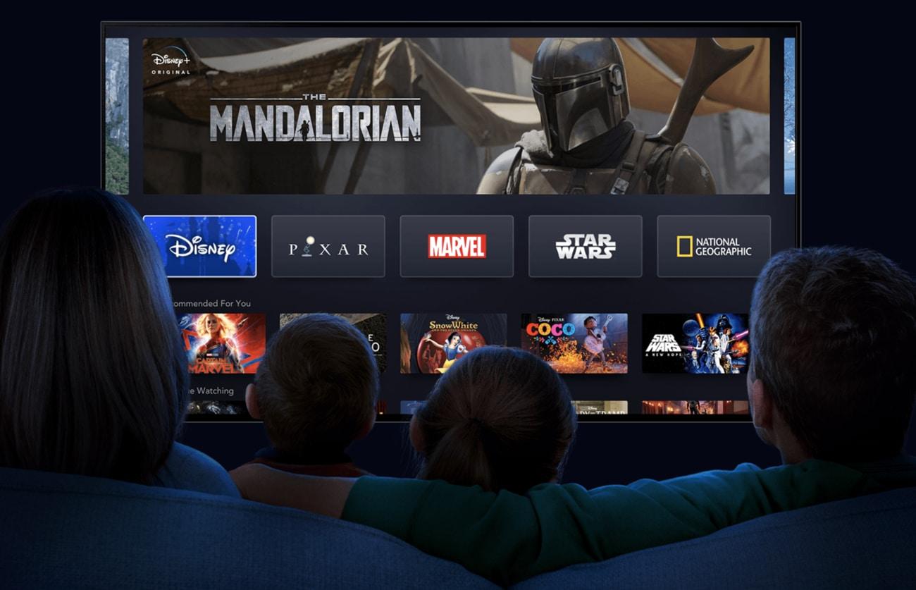 Gói thuê bao cơ bản của Disney+ cho phép stream 4 luồng video cùng lúc ở độ phân giải 4K