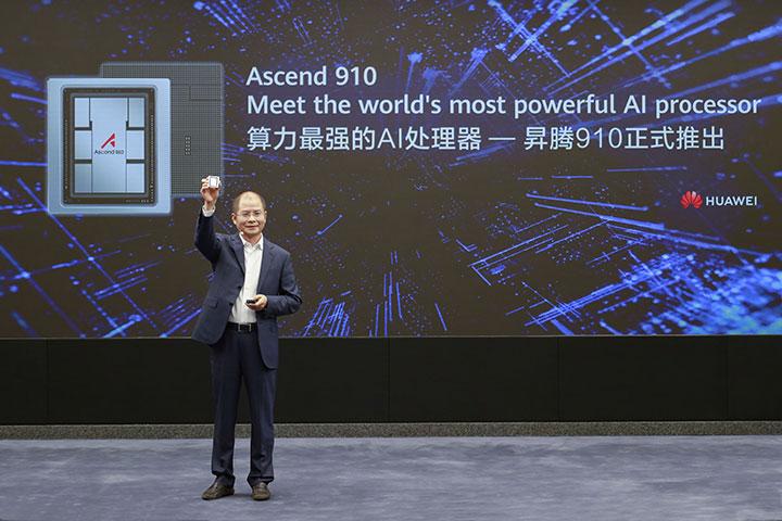 Huawei ra mắt vi xử lý trí tuệ nhân tạo Ascend 910