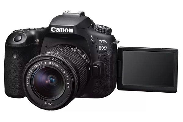 Canon trình làng máy ảnh DSLR 90D và mirrorless M6 Mark II độ phân giải 32MP