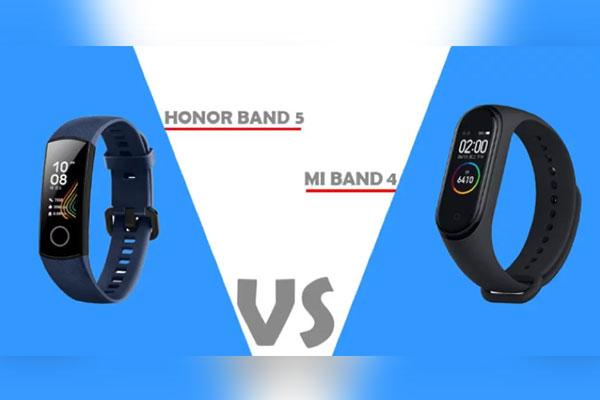 Nên mua vòng đeo thông minh Xiaomi Mi Band 4 hay Honor Band 5?