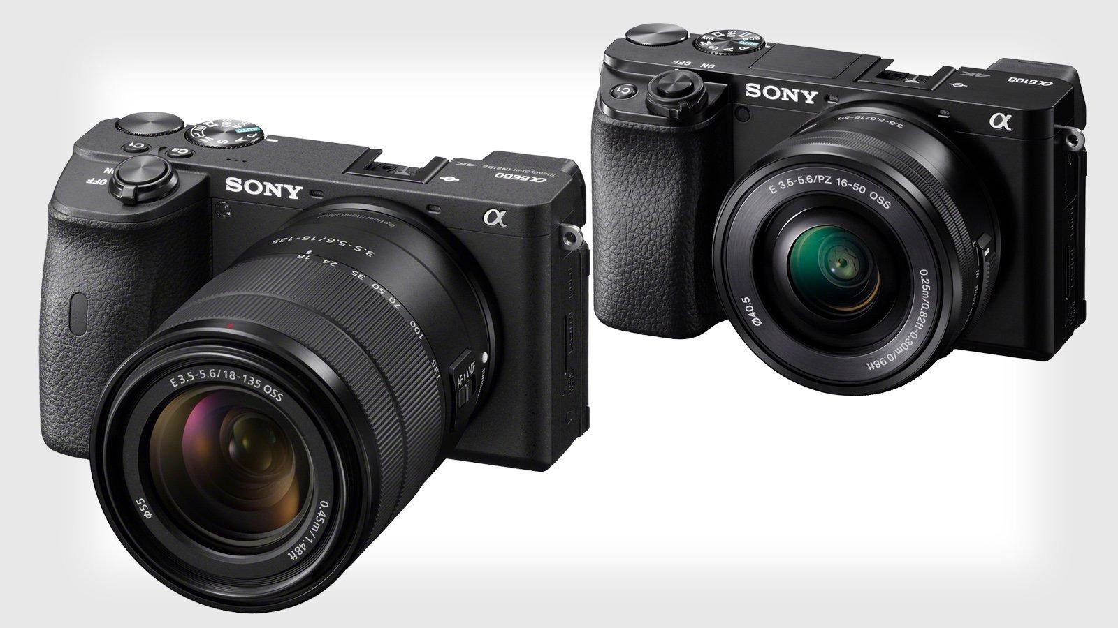 Sony ra mắt 2 chiếc máy ảnh mới, flagship a6600 và entry-level a6100, cảm biến APS-C