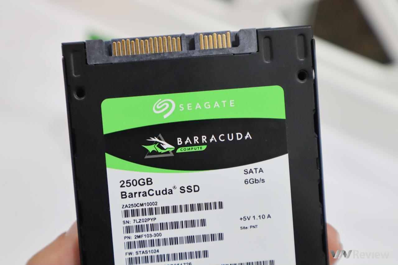 Đánh giá SSD Seagate BarraCuda 250GB: tìm lại hào quang xưa