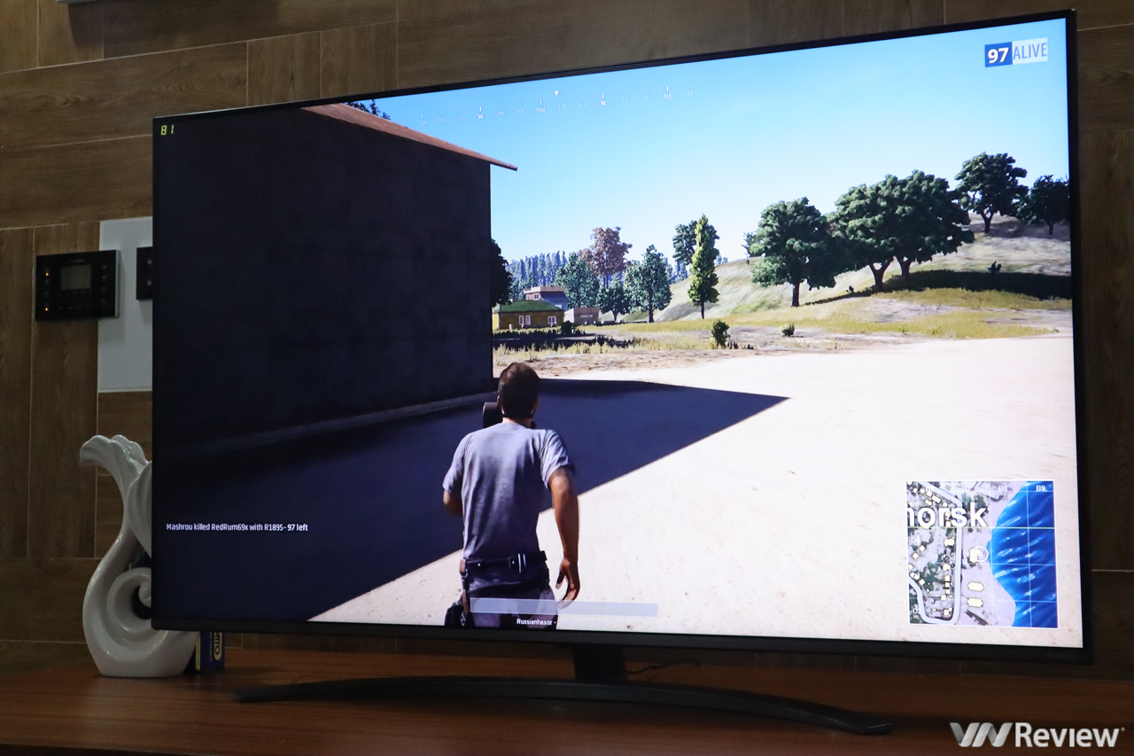 Trên tay LG NanoCell TV AI ThinQ 55SM8100PTA
