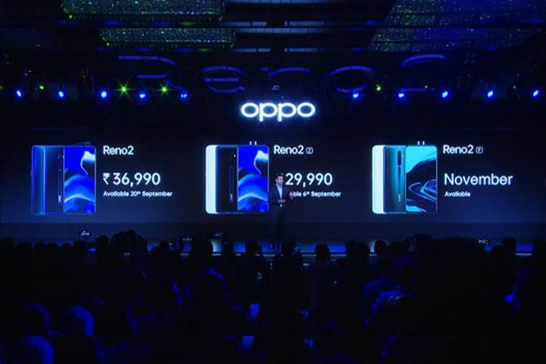 So sánh cấu hình Oppo Reno2, Reno2Z và Reno2F