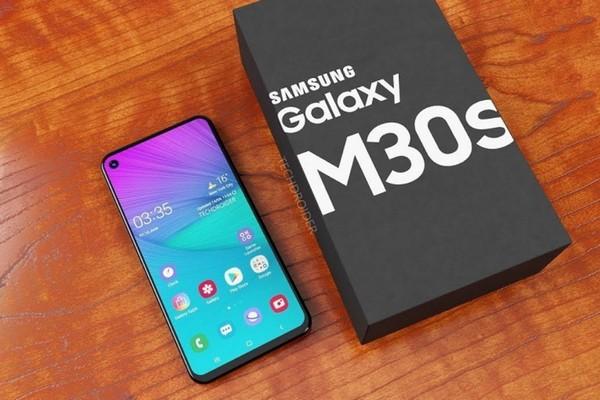 Galaxy M30s sẽ là chiếc smartphone đầu tiên của Samsung có viên pin 6.000mAh