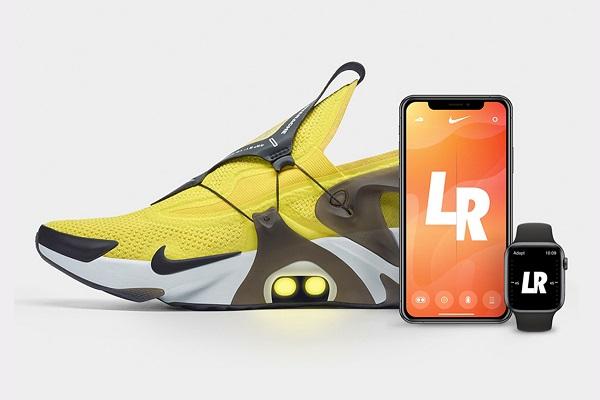 Nike ra mắt giày Adapt Huarache với FitAdapt, có thể điều khiển thông qua Siri và Apple Watch