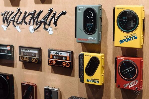 Sony kỉ niệm tuổi 40 của Walkman tại Tokyo