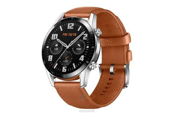 Lộ ảnh smartwatch Huawei Watch GT 2, có micro và loa để gọi điện