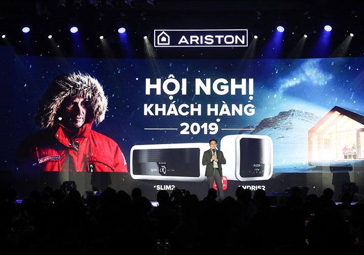Ariston ra mắt bình nước nóng đầu tiên có Wi-Fi ở Việt Nam