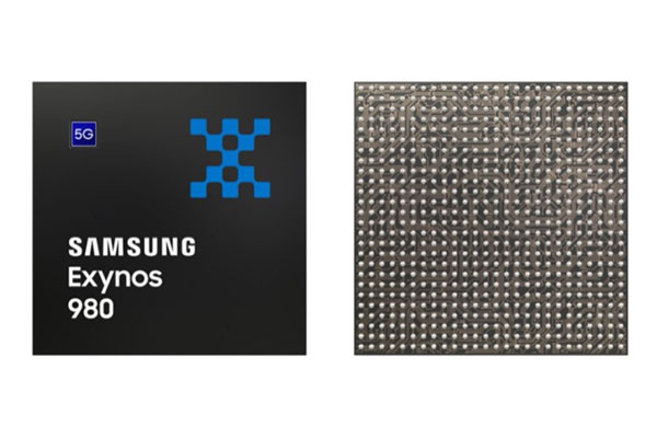 Samsung ra mắt chip xử lý Exynos 980 tích hợp modem 5G
